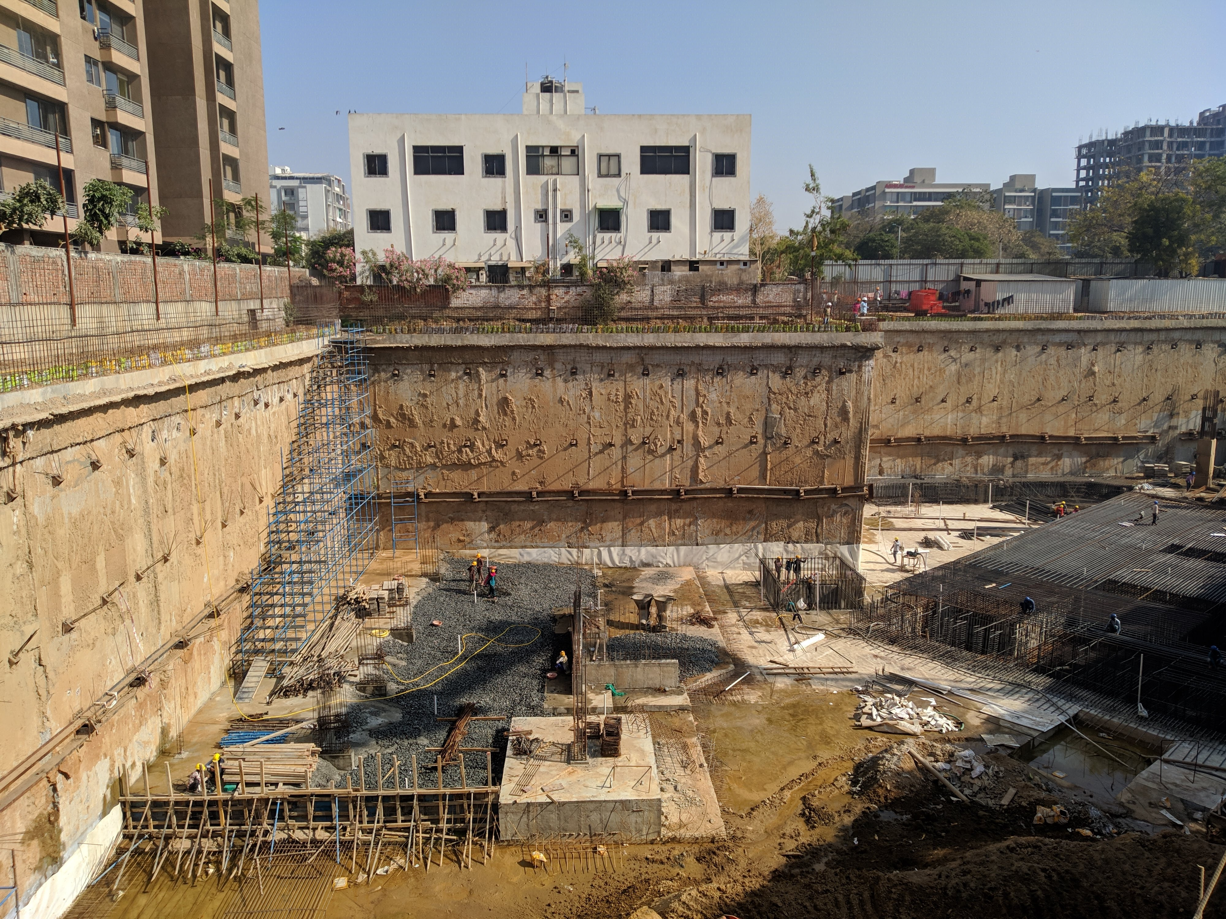 diaphragm wall construction